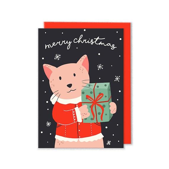 image 0 - Merry Christmas Cat