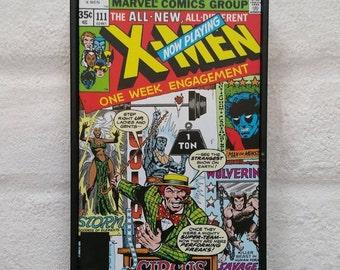 Comic Book Wall Art. Marvel Comic Frame. Superhero