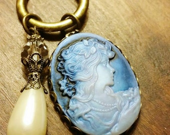 Blue Lady Necklace