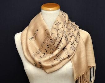 Sheet Music Shawl/Scarf