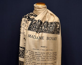 Madame Bovary by  Gustave Flaubert Scarf/Shawl