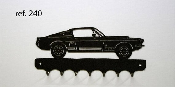 Hangs 26 cm pattern metal keys: Ford mustang GT500