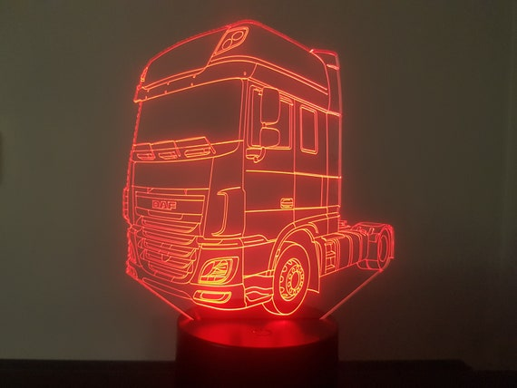 Lamp 3D pattern: DAF XF 106