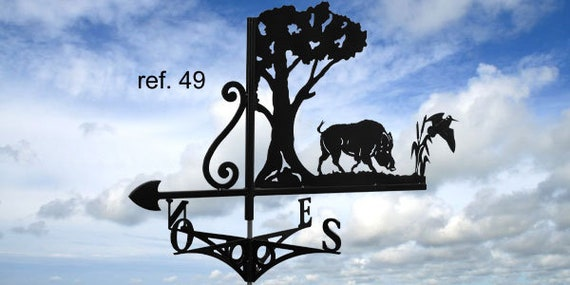 Weathervane with roof boar with Woodcock