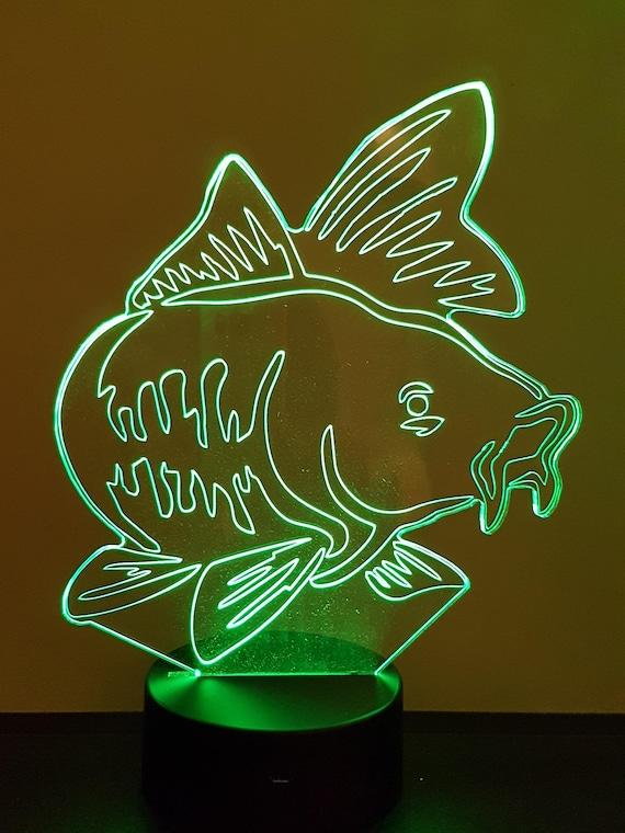 Lamp 3D design: carp