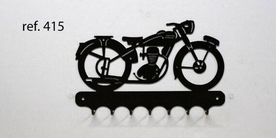 Hangs 26 cm pattern metal keys: motobecane Z series.