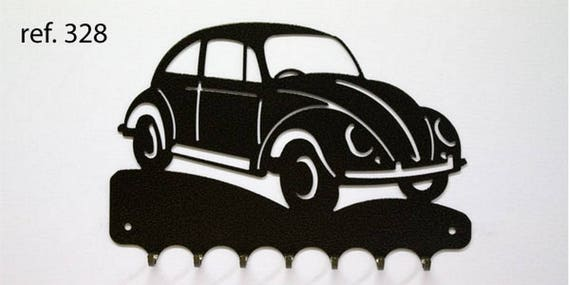 Hangs 26 cm pattern metal keys: VW Beetle