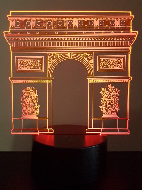 Lamp 3D design: Arch of triumph PARIS