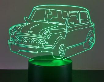 Lamp 3D pattern: Austin mini