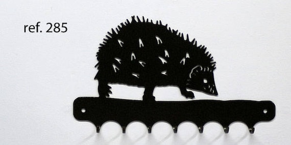 Grip-pattern metal keys: Hedgehog
