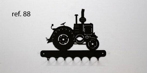 Hangs 26 cm pattern metal keys: tractor VIERZON