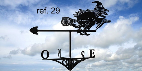 roof witch weathervane