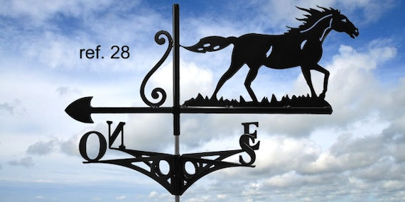 roof horse wind vane