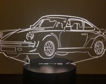 Lamp 3D design: porsche 911 930 Cup