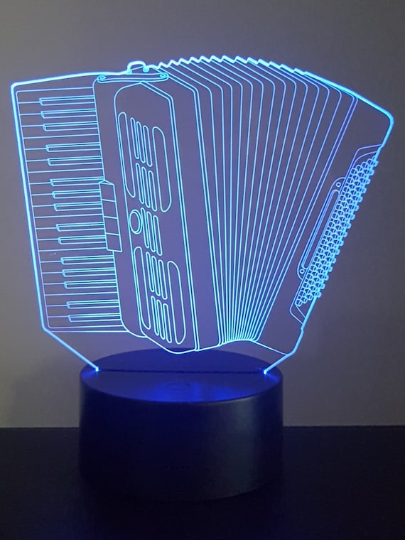 Lamp 3D pattern: accordion