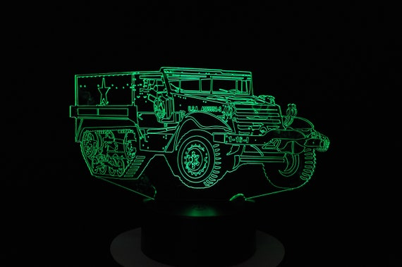 Lamp 3D pattern: Halftrack