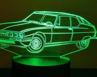 Lamp 3D pattern: Citroen SM