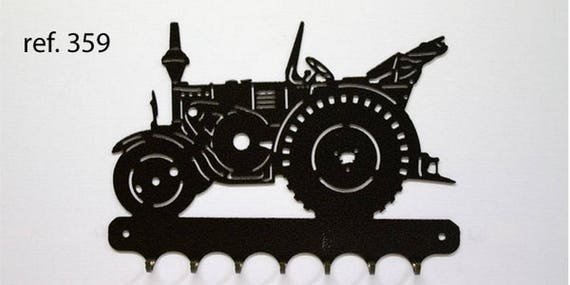 Hangs 26 cm pattern metal keys: LANZ tractor