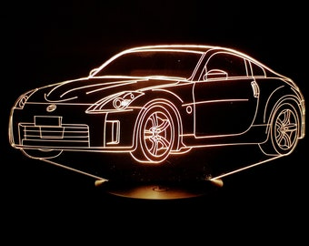 Lamp 3D pattern: Nissan 350Z