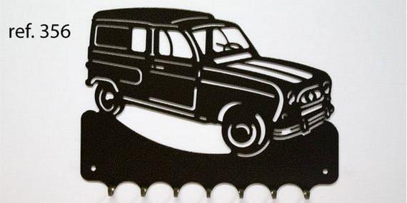 Hangs 26 cm pattern metal keys: Renault R4 F4
