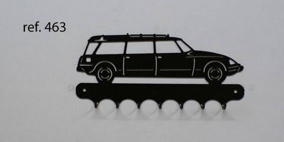 Hangs 26 cm pattern metal keys: break Citroën DS
