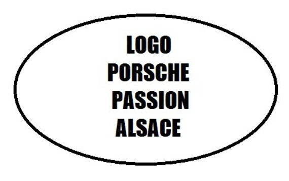PORSCHE PASSION ALSACE project (drawing) - mood lamp 3D led, laser engraving on acrylic, usb cable or battery power.