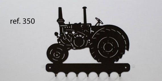 Hangs 26 cm pattern metal keys: tractor LANZ