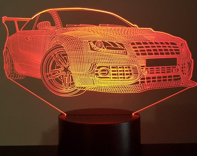 Lamp 3D design: Porsche 911 GT3 RS