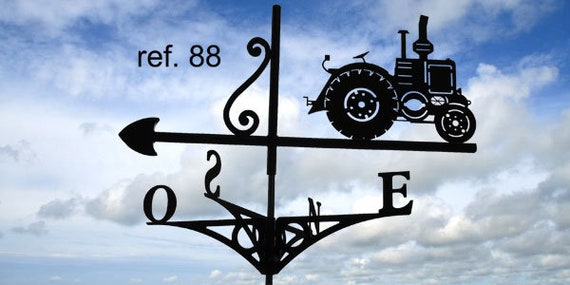 tractor rooftop weathervane Vierzon (company French H1 H2)
