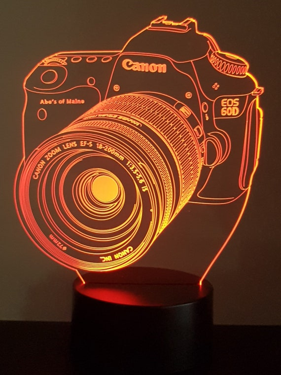 Lamp 3D pattern: camera