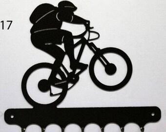 Hangs 26 cm pattern metal keys: mountain bike