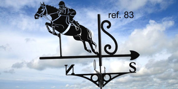 weather vane roof CSO jump over fences