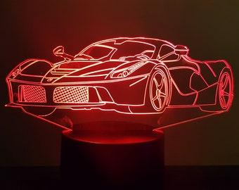 Lamp 3D design: Ferrari