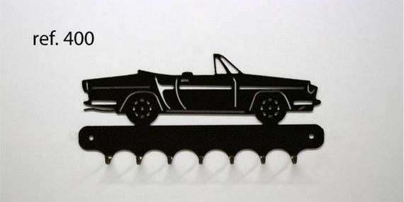 Hangs 26 cm pattern metal keys: Renault Florida. Caravelle convertible