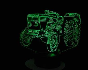 Lamp 3D design: tractor Deutz