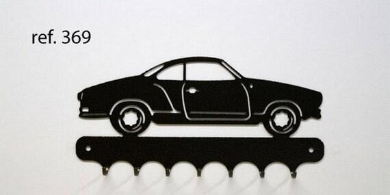 Hangs 26 cm pattern metal keys: Karman ghia VW
