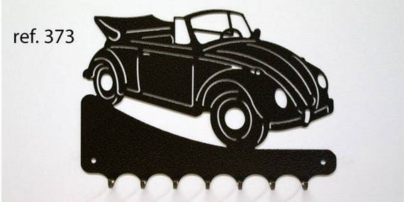 Hangs 26 cm pattern metal keys: VW convertible beetle
