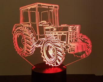 Lamp 3D pattern: IH tractor