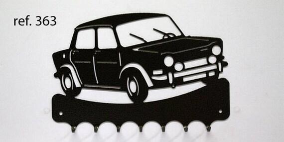 Hangs 26 cm pattern metal keys: Simca rally 2