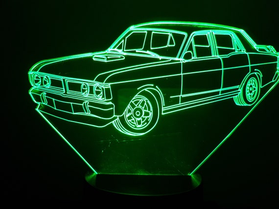 Lamp 3D design: Ford Falcon XY GT