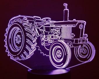 Lamp 3D design: John DEERE tractor
