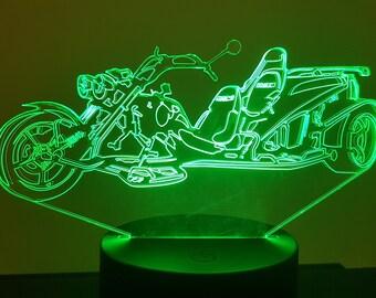 Lamp 3D pattern: Trike