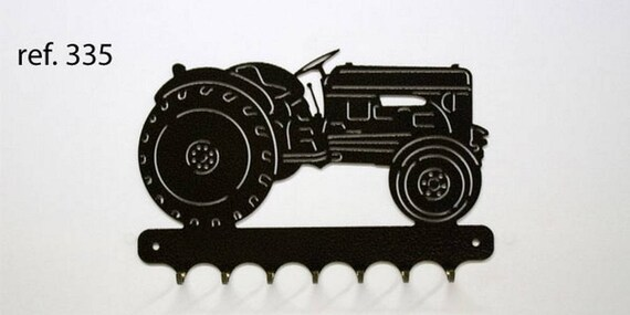 Hangs 26 cm pattern metal keys: tractor massey