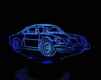 Lamp 3D pattern: A110 Berlinette
