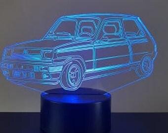 Lamp 3D design: Alpine R5