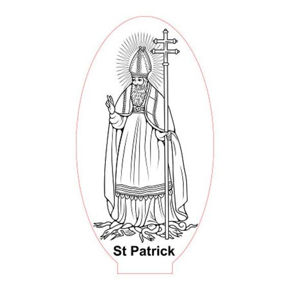 Lamp 3D design: St. Patrick's day