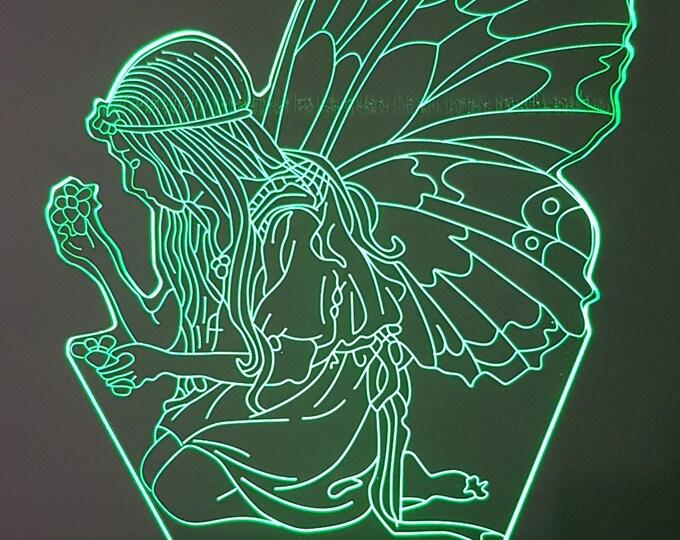 Lamp 3D design: fairy - elphe