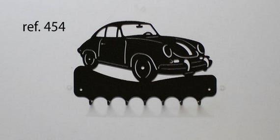 Hangs 26 cm pattern metal keys: Porsche 356