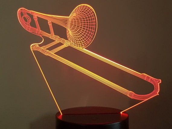 Lamp 3D design: paperclip
