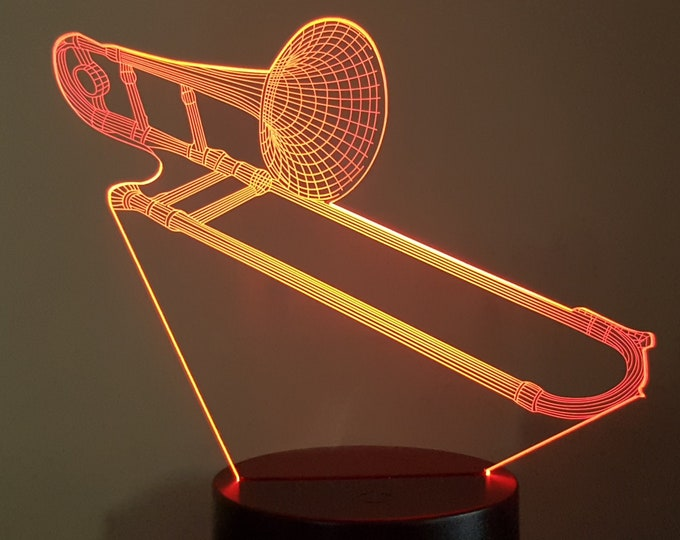 Lamp 3D design: paperclip